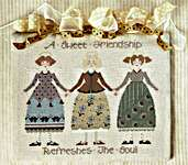 Click for more details of Sweet Friendship (cross stitch) by The Cross-Eyed Cricket