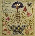 Climbing The Trellis Cross Stitch Pattern By Blackbird Designs