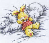 Click for more details of Sweet Sleep (cross stitch) by RTO