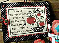 Click for more details of Sweet Tomato (cross stitch) by The Scarlett House