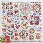 Click for more details of Swirling Flowers (cross stitch) by Rosewood Manor