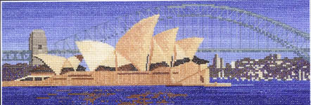 Click for more details of Sydney (cross stitch) by John Clayton