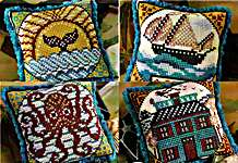 Click for more details of Tales from the Sea - Fragments in Time 1 - 4 (cross stitch) by Summer House Stitche Workes