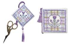 Click for more details of Tartan Thistles Stitcher's Accessories (cross stitch) by Textile Heritage