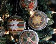Click for more details of Tea Ball Ornaments (cross stitch) by Heartstring Samplery