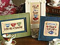 Click for more details of Tea Crazy (cross stitch) by Lizzie Kate