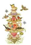 Click for more details of Tea Garden (cross stitch) by DMC Creative