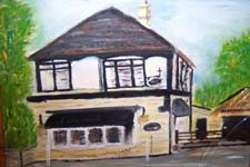Click for more details of Thai Resturant Limpley Stoke (oil on board) by Terry Chivers