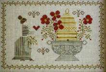 Click for more details of The Beekeeper (cross stitch) by Plum Street Samplers