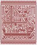 Click for more details of The Big Red Ship of Life (cross stitch) by Ink Circles
