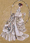 Click for more details of The Bride (cross stitch) by Lavender & Lace
