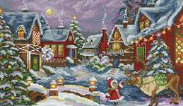 Click for more details of The Christmas Guest (cross stitch) by Merejka