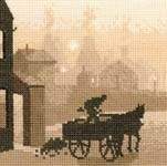 Click for more details of The Coalman (cross stitch) by Phil Smith