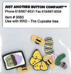 Click for more details of The Cupcake Tree Button Set (beads and treasures) by Just Another Button Company