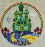 Click for more details of The Emerald City (cross stitch) by Satsuma Street