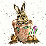 Click for more details of The Flower Pot (cross stitch) by Bothy Threads