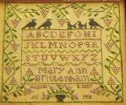 Click for more details of The Fruitful Vine (cross stitch) by Blackbird Designs
