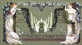 Click for more details of The Garden Muses (cross stitch) by Mirabilia Designs