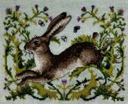 Click for more details of The Hare (cross stitch) by Merejka