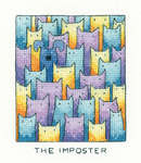 Click for more details of The Imposter (cross stitch) by Peter Underhill