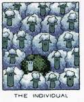 Click for more details of The Individual (cross stitch) by Peter Underhill