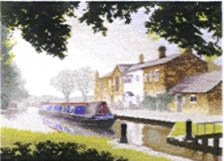 Click for more details of The Junction (cross stitch) by John Clayton