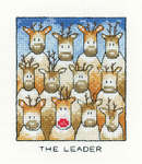 Click for more details of The Leader (cross stitch) by Peter Underhill
