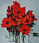 Click for more details of The Poppies (cross stitch) by Luca - S