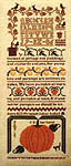 Click for more details of The Pumpkin Sampler (cross-stitch pattern) by The Sampler House