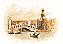 Click for more details of The Rialto (cross stitch) by John Clayton