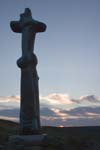 Click for more details of The Silhouette of Glenkiln Cross (photograph) by Margaret Elliot