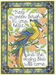 Click for more details of The Singing Bird (cross stitch) by Imaginating