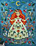 Click for more details of The Stitch Goddess (cross stitch) by Tiny Modernist