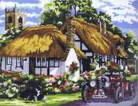 Click for more details of The Village of Welford (tapestry) by Anchor