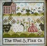 Click for more details of The Wool and Flax Co. (cross stitch) by Plum Street Samplers