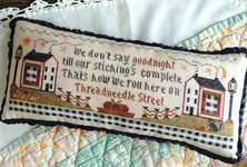 Click for more details of Threadneedle Street (cross stitch) by Annie Beez Folk Art