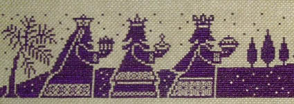 Click for more details of Three Kings (cross stitch) by Imaginating