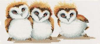 Click for more details of Three Little Maids (cross stitch) by Valerie Pfeiffer