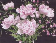 Click for more details of Tickled Pink (cross-stitch kit) by Lanarte
