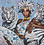 Click for more details of Tigress (cross-stitch kit) by maia