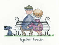 Click for more details of Together Forever (cross stitch) by Peter Underhill