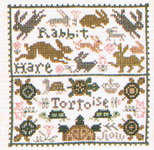 Click for more details of Tortoise & the Hare (cross stitch) by The Prairie Schooler