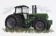 Click for more details of Tractor (cross-stitch kit) by Janlynn