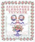 Click for more details of Traditional Alphabet Sampler (cross stitch) by Thea Gouverneur