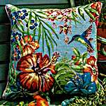 Click for more details of Tropical (tapestry) by Glorafilia