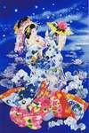 Click for more details of Tsuki Hoshi 2 (cross stitch) by Kustom Krafts