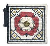 Click for more details of Tudor Rose Needlecase (cross stitch) by Textile Heritage