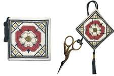 Click for more details of Tudor Rose Stitcher's Accessories (cross stitch) by Textile Heritage