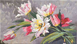 Click for more details of Tulips (long-stitch) by Anchor
