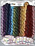 Click for more details of Twisted Band Sampler Silk Pack (thread and floss) by Northern Expressions Needlework